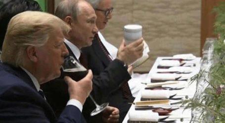 Με την προσωπική του κούπα ο Πούτιν στη Σύνοδο των G20