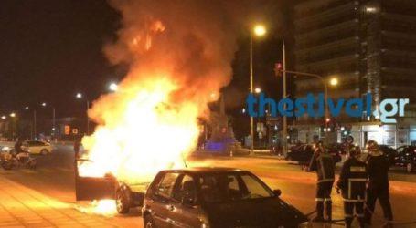Κάηκε σταθμευμένο Ι.Χ. στο Ωραιόκαστρο Θεσσαλονίκης