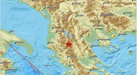 Σεισμός 4,4 Ρίχτερ στην Αλβανία- Αισθητός στην Θεσσαλονίκη