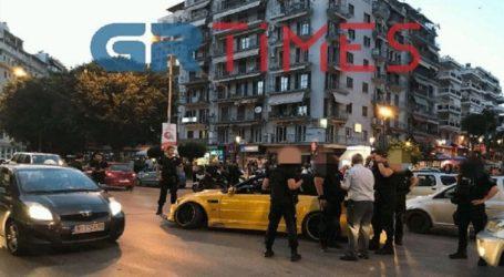 Κινηματογραφική καταδίωξη οχήματος στην Εγνατία