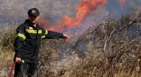 Αυξημένος κίνδυνος πυρκαγιάς για σήμερα Κυριακή