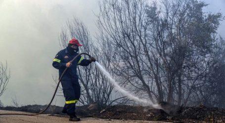 Υπό έλεγχο φωτιά στην Αίγινα