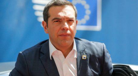 Στην έκτακτη Σύνοδο του Ευρωπαϊκού Συμβουλίου ο Αλέξης Τσίπρας