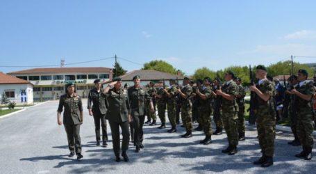 Στη Ρεντίνα για το μνημόσυνο υπέρ πεσόντων καταδρομέων ο διοικητής της 1ης Στρατιάς