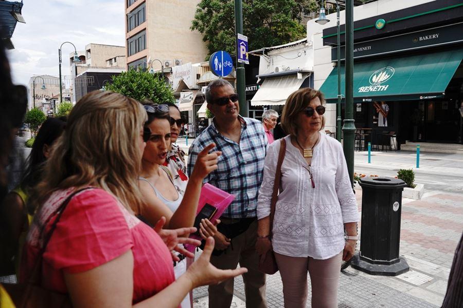 Ενημερώνεται για τη Λάρισα η αντιπροσωπεία της Μιραφλόρες