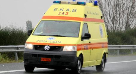 Τροχαίο ατύχημα με ηλικιωμένο και 31χρονο – Στο Νοσοκομείο Βόλου ο νεαρός μετά από επιχείρηση του Λιμενικού