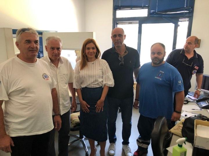 Στέλλα Μπίζιου: Ήρωες οι εργαζόμενοι στο ΕΚΑΒ