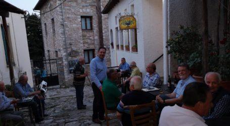 Γ. Σακκόπουλος: Οφείλουμε πολλά στους κατοίκους της Πορταριάς και της Μακρινίτσας