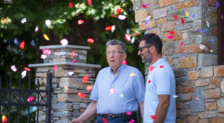 Πάρτυ έκπληξη στην ΕΨΑ για τα 90χρονα γενέθλια του Νίκου Τσαούτου [εικόνες]