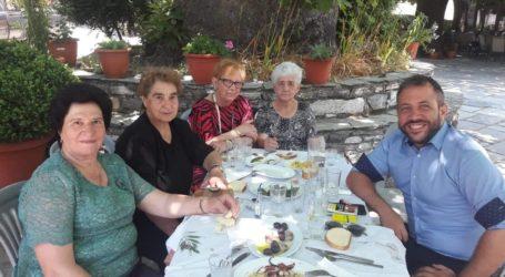 Επίσκεψη Αλέξανδρου Μεϊκόπουλου στη Ζαγορά