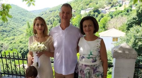 Παντρεύτηκε η κόρη της Μαρίνας Χρυσοβελώνη [εικόνα]