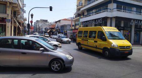 Κυκλοφοριακό χάος από τη διακοπή ρεύματος στο κέντρο του Βόλου