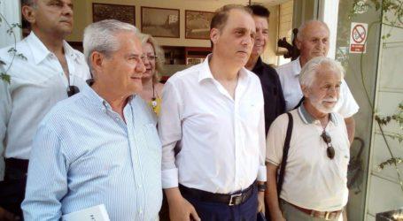 Στον Βόλο περιόδευσε ο Κυριάκος Βελόπουλος