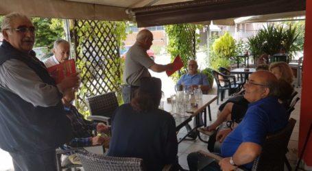 Περιοδεία Νίκου Παπαδόπουλου στη Χάλκη και το Κιλελέρ