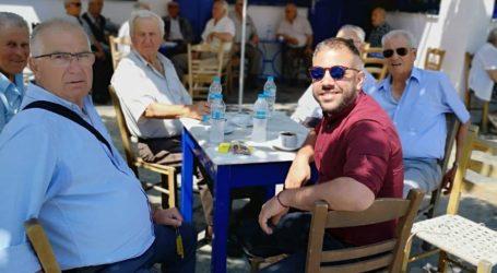 Ο Αλέξανδρος Μεϊκόπουλος σε Αλόννησο και Σκόπελο