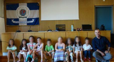 Λήξη μαθημάτων παιδικού χορευτικού τμήματος της Διεθνούς Ένωσης Αστυνομικών Λάρισας