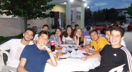 Τους μαθητές της Γ' Γυμνασίου αποχαιρέτησε το 15ο Γυμνάσιο Λάρισας