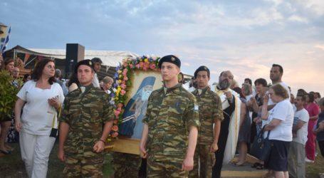 Τα ιερά λείψανα του Αγίου Λουκά του Ιατρού υποδέχθηκε η Λάρισα – Λιτάνευση της εικόνας του στο Πανεπιστημιακό (φωτο)