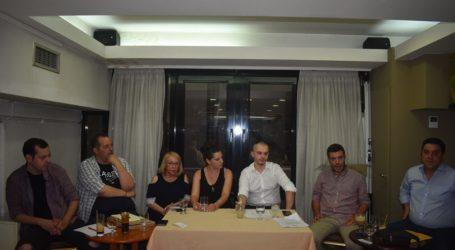 Οργανωτική συνάντηση πραγματοποίησε το «ΜέΡα25» στη Λάρισα (φωτο)