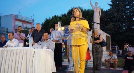 Ζέττα Μακρή για στρατόπεδο Γεωργούλα: Τα ισοδύναμα, αν τα δούμε θα είναι προσωρινά και αδύναμα