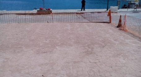 Συνεχίζονται οι εργασίες αποκατάστασης στο Πατητήρι Αλοννήσου