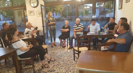 Η Ζέττα Μακρή σε Αϊδίνι, Κρόκιο, Μικροθήβες και Ν. Αγχίαλο και με τον Σύλλογο Αποστράτων