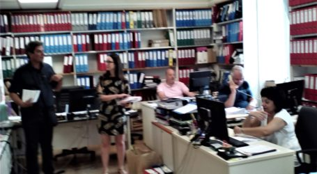 Περιοδεία υποψ. βουλευτών ΚΚΕ σε ΟΑΕΔ και Πανεπιστήμιο Θεσσαλίας