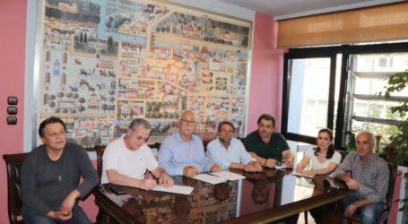 Υπεγράφη σύμβαση για επισκευές και συντηρήσεις σχολείων της Λάρισας ύψους 1,8 εκ. ευρώ