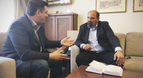 Χρήστος Τριαντόπουλος: Εποικοδομητική συνάντηση με Τζιτζικώστα