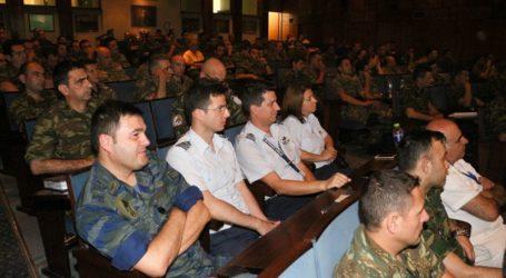 Ομιλία για την ασφάλεια στο ίντερνετ και το ηλεκτρονικό έγκλημα στην 1η Στρατιά