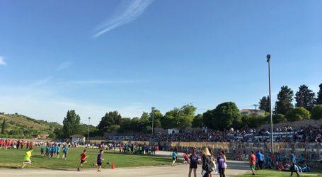 «Πλήθος μικρών αθλητών στουςΑγώνες Στίβου- Ρήγεια 2019»
