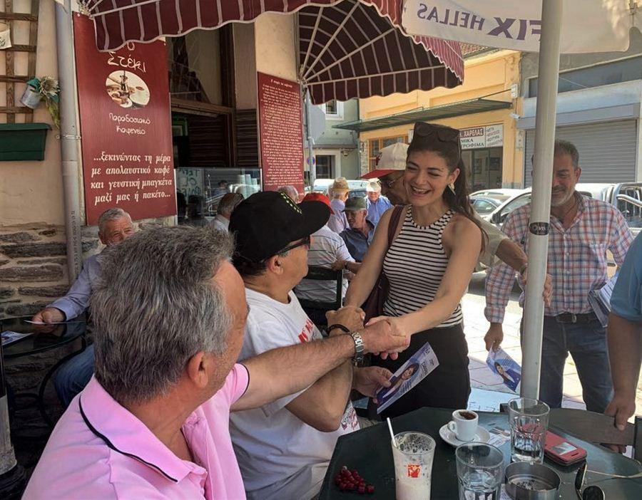 Αθηνά Σιαφαρίκα: Δυναμικές οι προοπτικές ανάπτυξης για την Αγιά