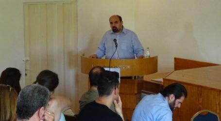 Χρ. Τριαντόπουλος από την Αγριά: Να αποφασίσουμε ότι μπορούμε αλλιώς