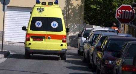 Λάρισα: Στο νοσοκομείο μαθητής γυμνασίου – Έπεσε από τις σκάλες στο σχολείο και χτύπησε στο κεφάλι