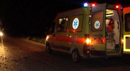 Βόλος: Τραυματίστηκε 53χρονος σε τροχαίο ατύχημα στα Πευκάκια