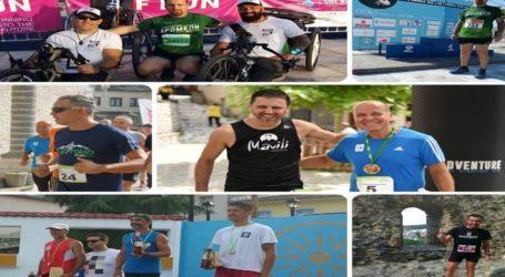 Σε δύο νησιά και σε 4 ακόμη περιοχές έτρεξε το Σαββατοκύριακο ο Σύλλογος Δρομέων Βόλου