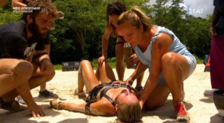 Survivor: Κατέρρευσε από την εξάντληση η Κατερίνα Δαλάκα!