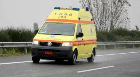Εκτροπή αυτοκινήτου στη Λάρισα – Με τραύματα στο νοσοκομείο ο οδηγός