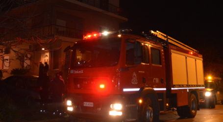 ΤΩΡΑ: Φωτιά σε σπίτι στη Νέα Ιωνία Βόλου
