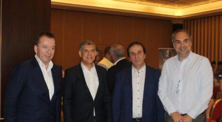 Στην επιχειρηματική συνάντηση γαλακτοκομικών και τυροκομικών εταιριών με ξένους αγοραστές ο Περιφερειάρχης Θεσσαλίας