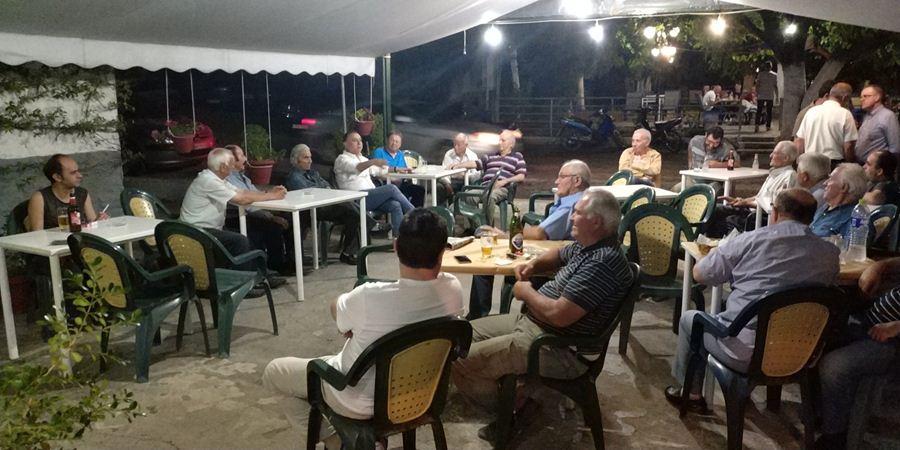 """Κέλλας σε Ευύδριο και Πολυνέρι: «Το """"πάρτυ"""" με τις τιμές στα αγροτικά προϊόντα τελειώνει σύντομα»"""