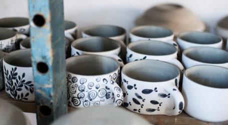 Εργαστήριο κεραμικής στο συγκρότημα Τσαλαπάτα
