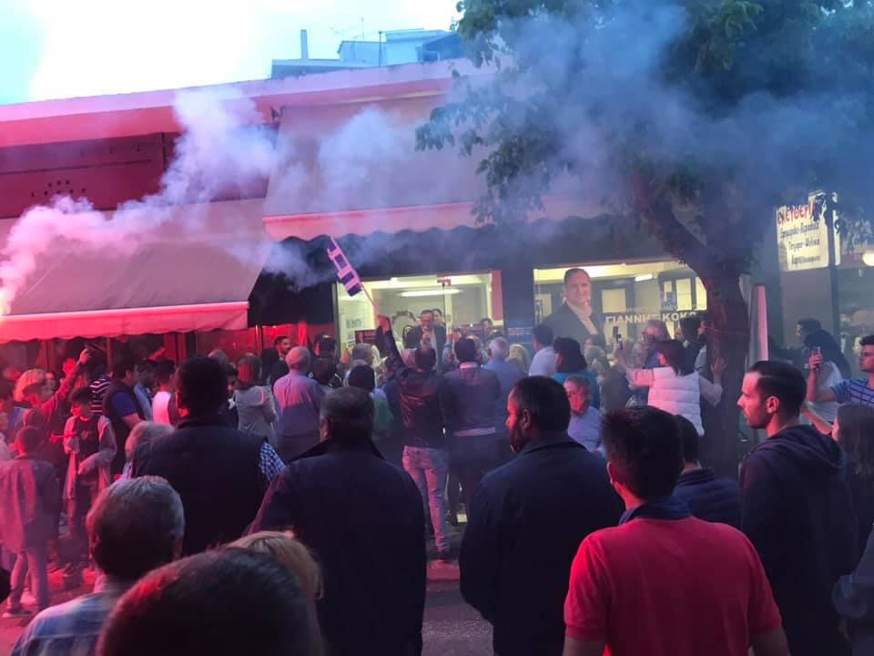 Δείτε βίντεο: Πανηγυρισμοί στον Τύρναβο για τον Κόκκουρα - Οι πρώτες του δηλώσεις