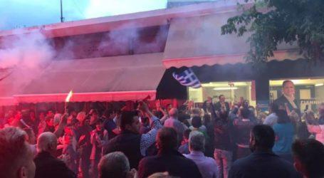 Δείτε βίντεο: Πανηγυρισμοί στον Τύρναβο για τον Κόκκουρα – Οι πρώτες του δηλώσεις