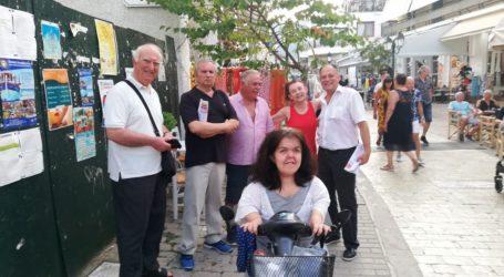 Περιοδεία στη Σκιάθο του Βουλευτή Μαγνησίας του ΚΚΕ Κώστα Στεργίου