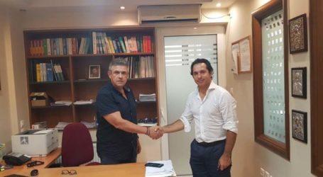 Στον πρόεδρο της ΕΦΕΕΛ ο Ηλίας Κοτσιμπογεώργος