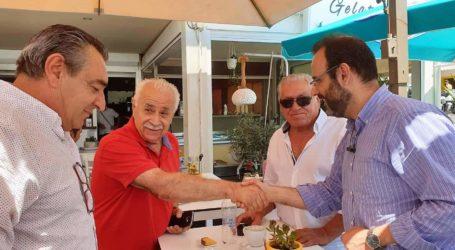 Κ. Μαραβέγιας: Ο τουρισμός στις Σποράδες αποτελεί πυλώναγια την επιστροφή της οικονομικής ευημερίας στη Μαγνησία