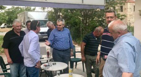 Χαρακόπουλος σε Ροδιά, Δελέρια, Βρυότοπο, Αργυροπούλι και Αμπελώνα: Αυτοδύναμη ΝΔ για ισχυρή ανάπτυξη!