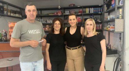 Στέλλα Μπίζιου: Περιοδεία σε Ελευθέριο, Δήμητρα, Καστρί, Αμυγδαλή και Καλαμάκι