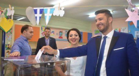 Νύφη και γαμπρός στις κάλπες στη Λάρισα απευθείας μετά το γλέντι (φωτο)
